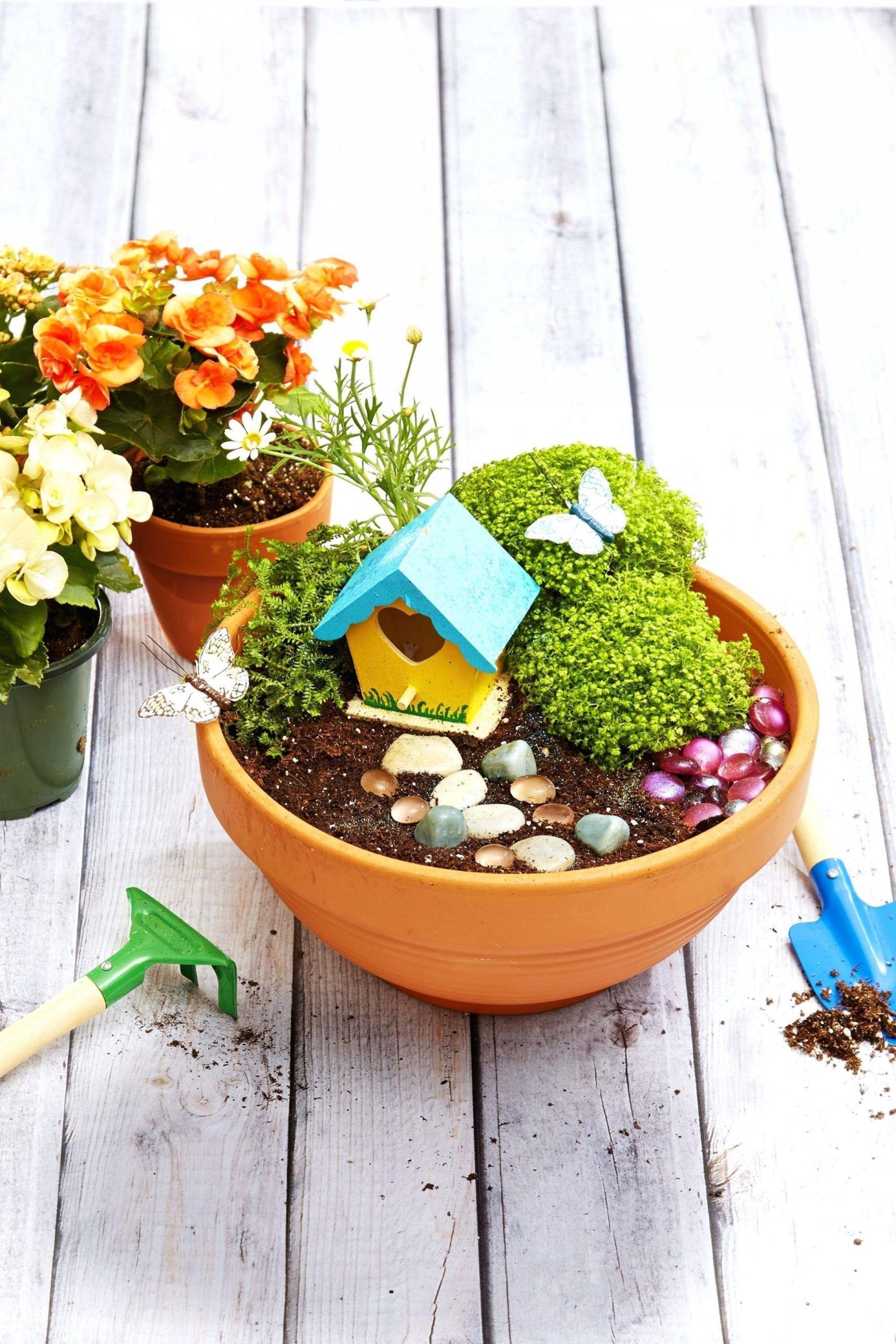 Garden Pot Decor in 7  Garden ideas diy cheap, Fairy garden