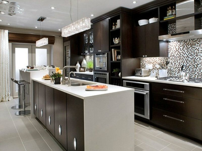 Ideje za braon kuhinje | Trpezarija i kuhinja | Pinterest