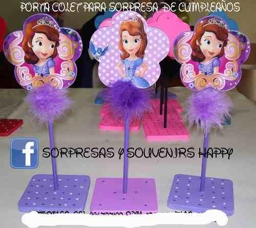 Sorpresas para cumpleanos infantiles de la princesa sofia for Decoracion cumpleanos princesas