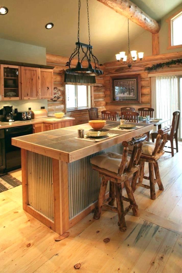 Log Home Kitchen Cabinet Ideas Cabin Beautiful Small Kitchens Tiny Cabinets Pulls Log Home Kitchens Rustic Kitchen Island Rustic Farmhouse Kitchen
