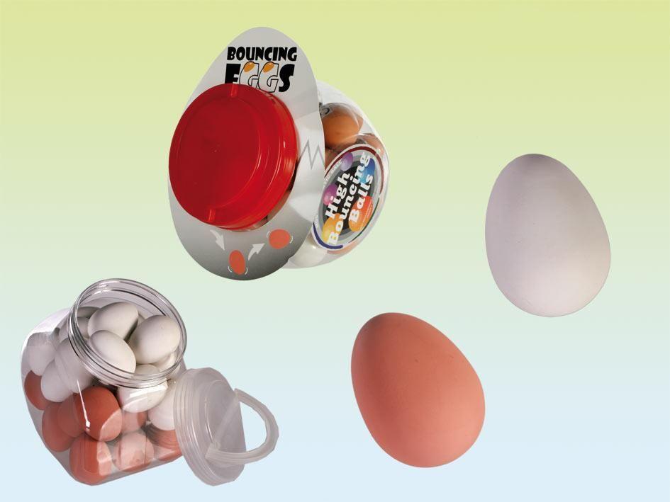 Moos: Goocheltruc Bouncing eggs  €2,50