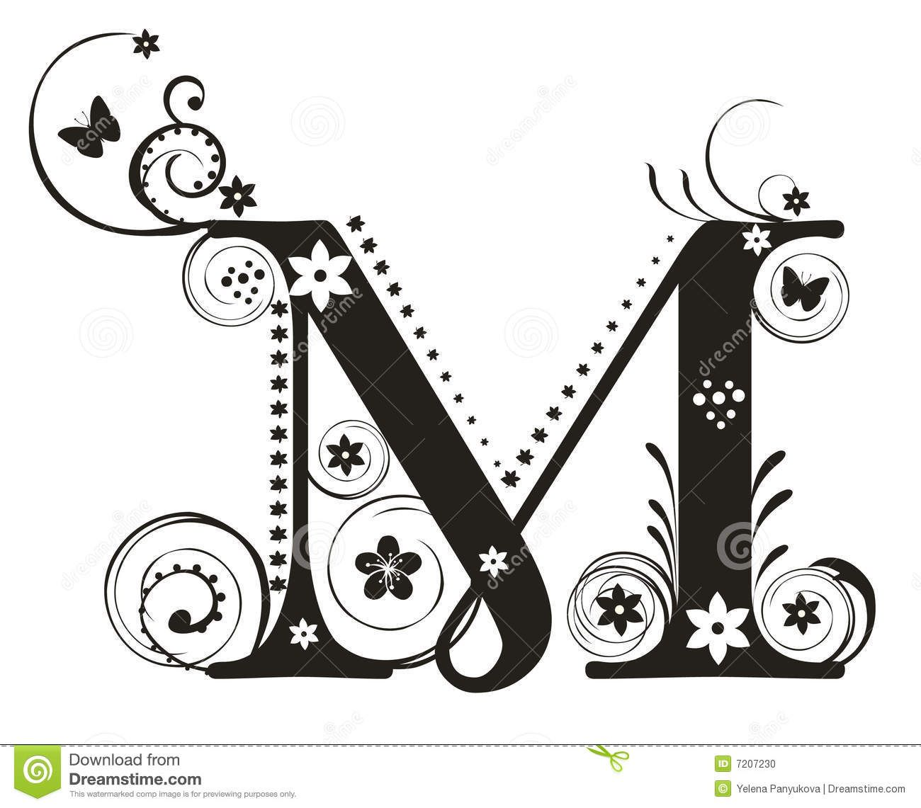 Fancy Letter M Designs