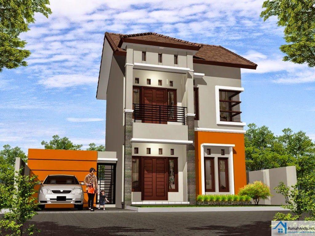 Kombinasi Cat Rumah Minimalis 2 Lantai Desain Rumah Minimalis