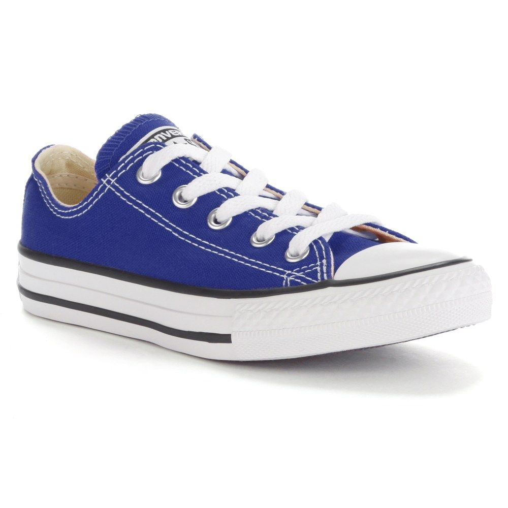 Converse Kids Chuck Taylor All Star Navy Low Shoes 4C