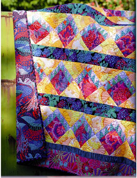 Hot Matisse Villa designed by Roberta Horton for Kaffe Quilts ... : kaffe quilts again - Adamdwight.com