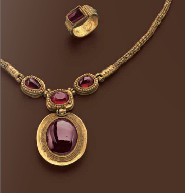 Greek Hellenistic Jewelry Set Late 2nd Century B C Gold And Garnets 3 Ancient Jewelry Ancient Greek Jewelry Greek Jewelry