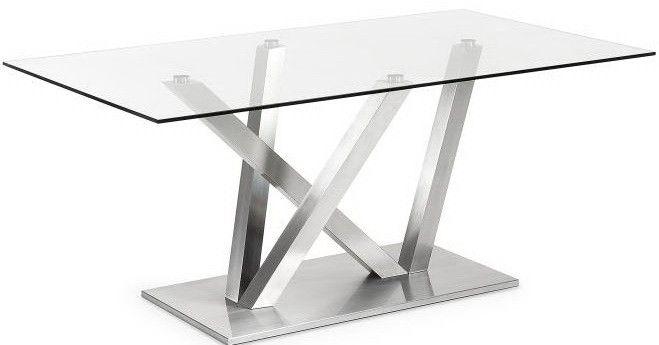 Lione tavolo acciaio inox tavoli alluminio metallo