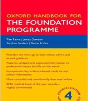 Oxford Handbook For The Foundation Programme Pdf Foundation Book Medical Textbooks Medical