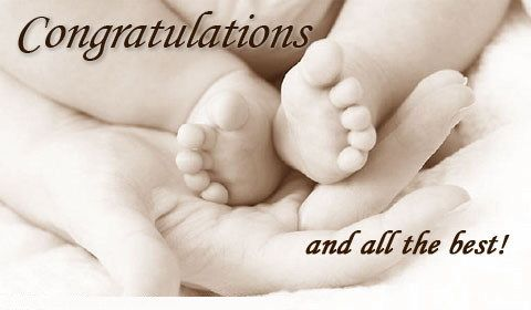 baby born congratulation