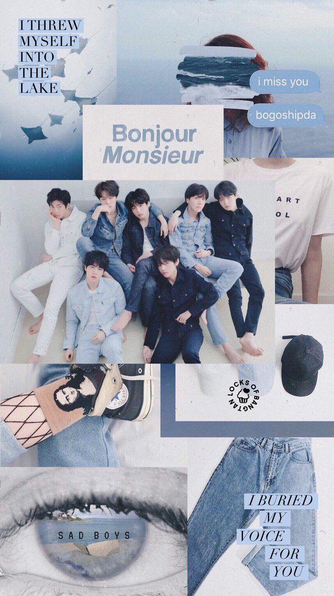 Bts Love Yourself Ƚ‰ Tear Concept Photo O Version Lockscreens Bts Wallpaper Aesthetic Wallpaper Bts Bts Moodboard