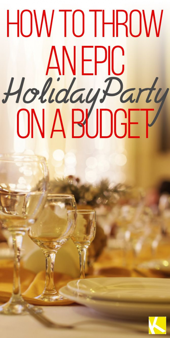 10 Clever Ways to Save Big on Your Holiday Party #christmasparty #christmas #party #themes