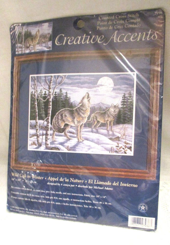 Creative Accents Wild Call In Winter Counted Cross Stitch 7938 Nip
