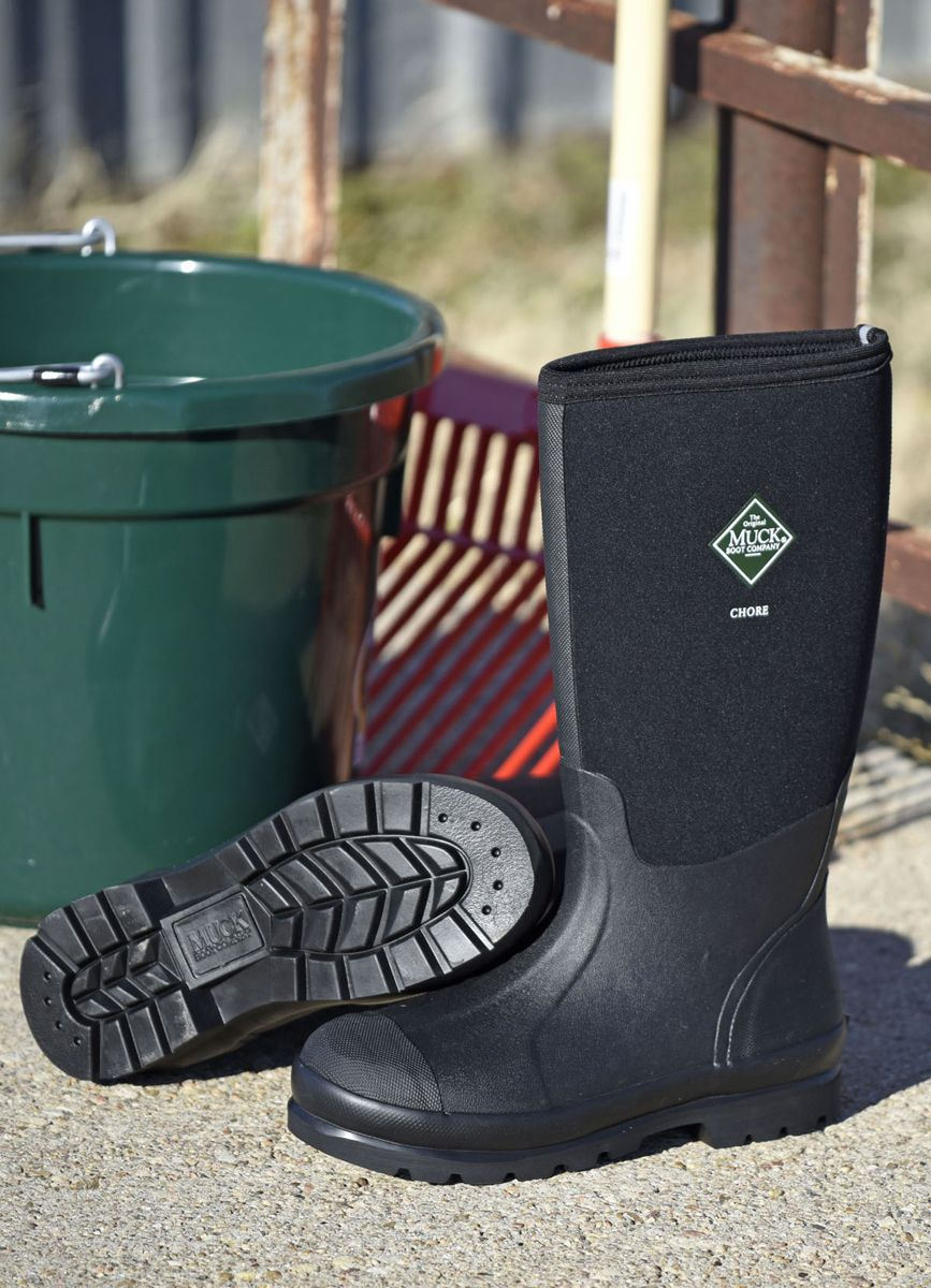 Chore Hi AllConditions Unisex Chore Boots Boots, Black