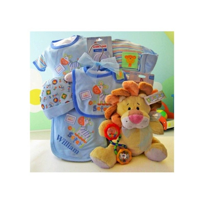 Baby Safari Gift Basket♥ Boutique baby gifts, Baby