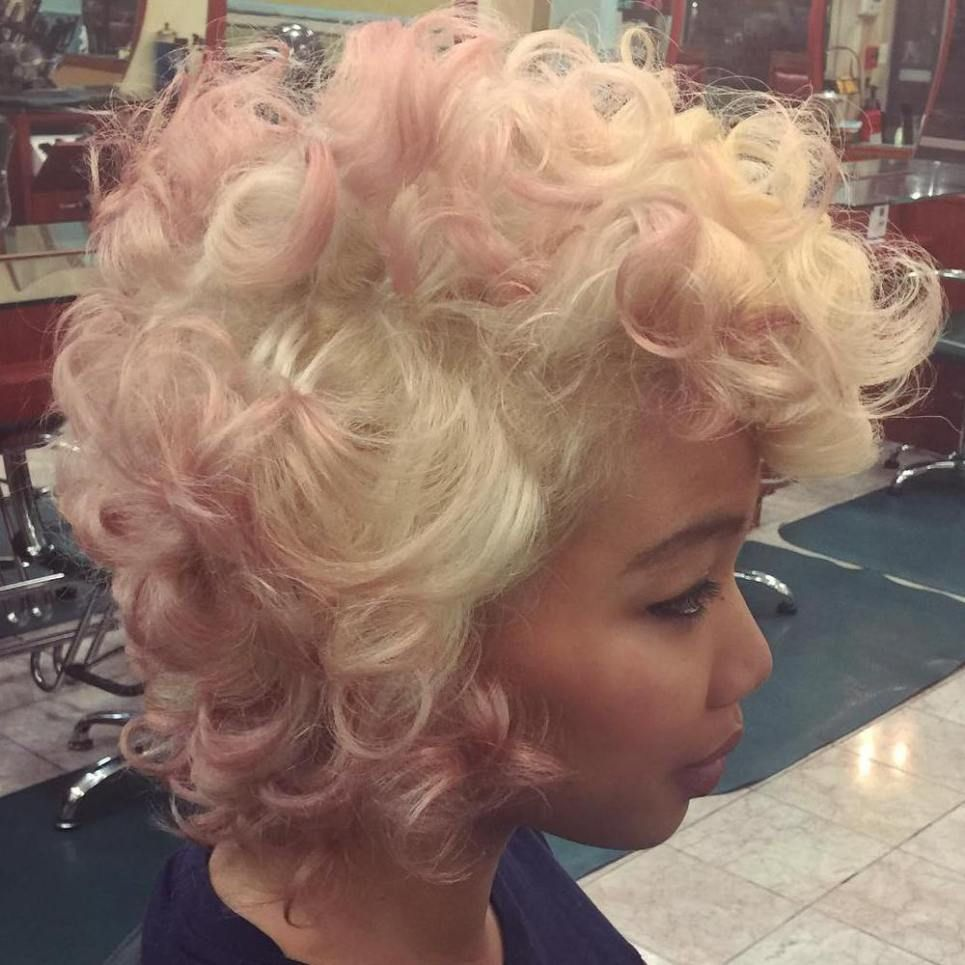 40 Pink Hairstyles As The Inspiration To Try Pink Hair Pink Blonde Hair Pink Hair Hair Styles