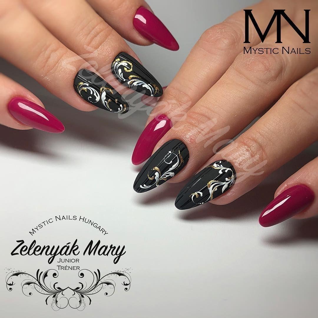 Zelenyák Marianna on Instagram: Egy kis vagány elegancia #nail #nails #nails #nailart #nailsart #nailartist #nailartists #nailstagram #nailswag #nailtech #followme