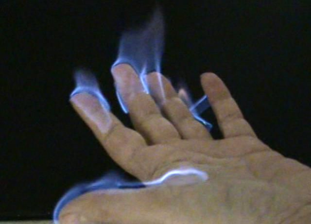 Easy Fire Project With Flames You Can Hold Fire Easy Science