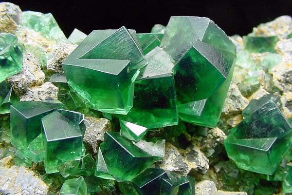 Fluorite, from Rogerley mine in the North Pennines