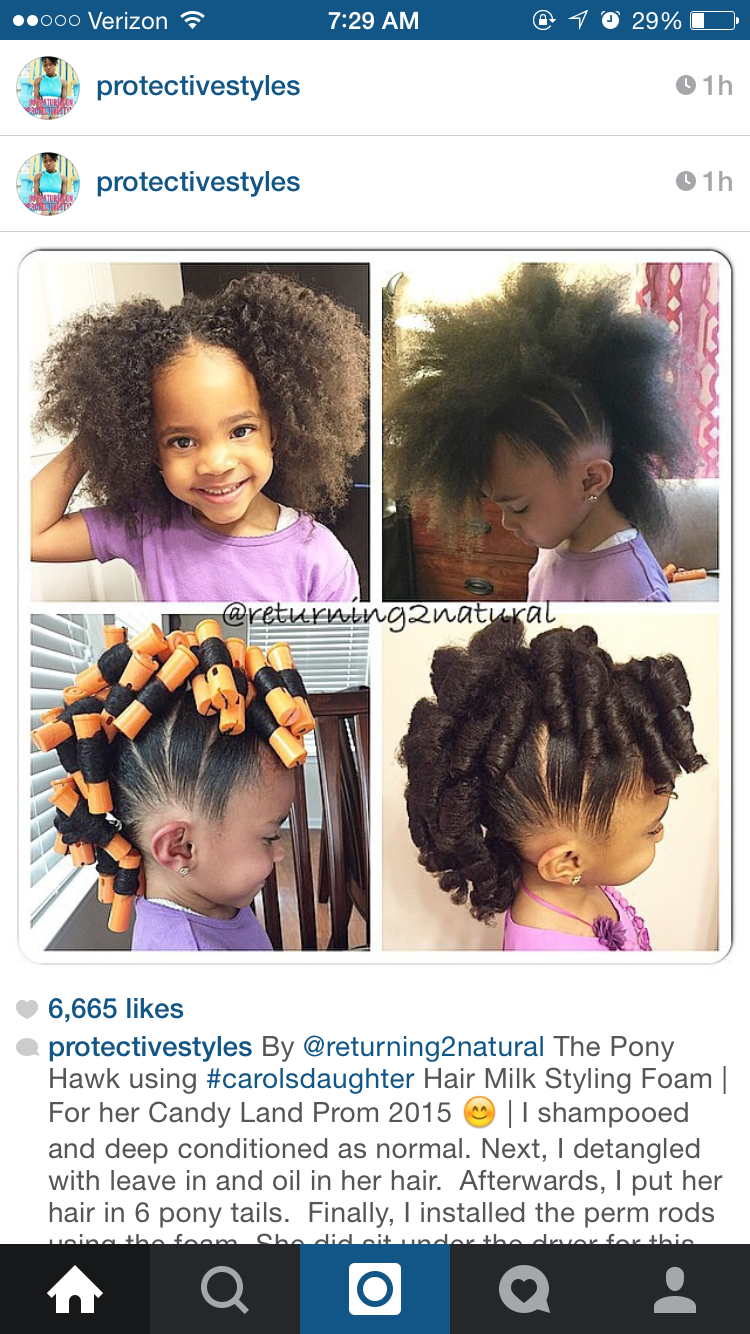 Pin by shayla williams on natural hairstyles for kids pinterest
