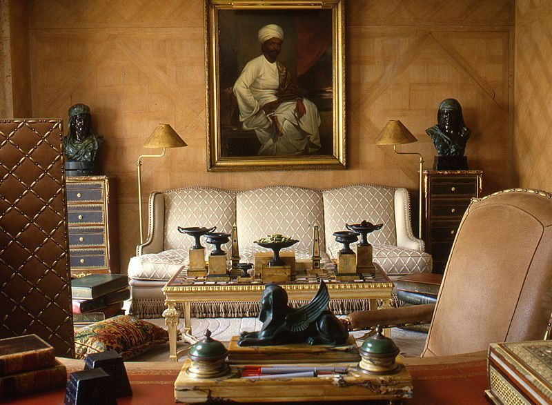 Sitting room in an apartment in cairo egypt designed by for Interior design egypt