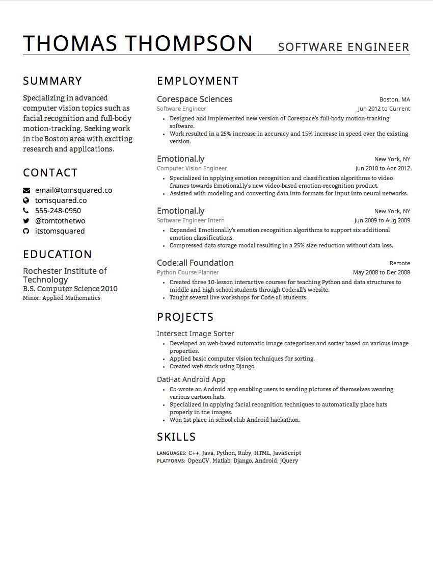 Gayle Laakmann Mcdowell Resume Creddle Creddle On Pinterest Resume Design Resume Template Examples Best Resume Template