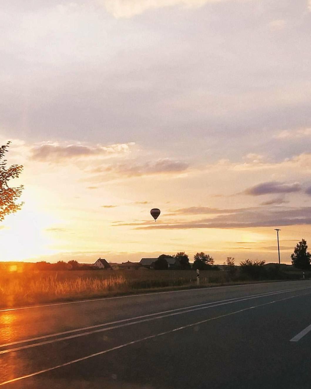 #ballon #heißluftballon #sun #airballon