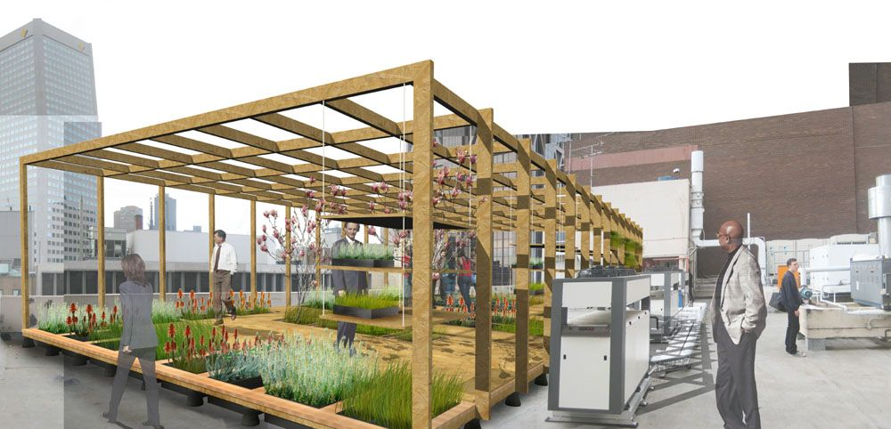 Best Gallery Of Green Roofs For Melbourne 1 1 Architects 1 400 x 300