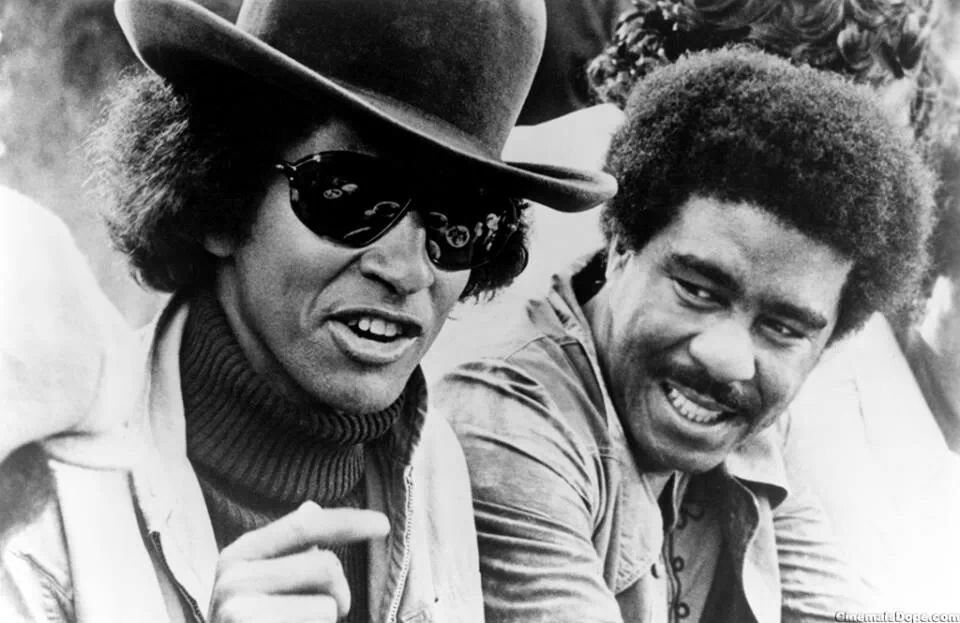 Max Julien And Richard Pryor In The Movie The Mac Celebrities