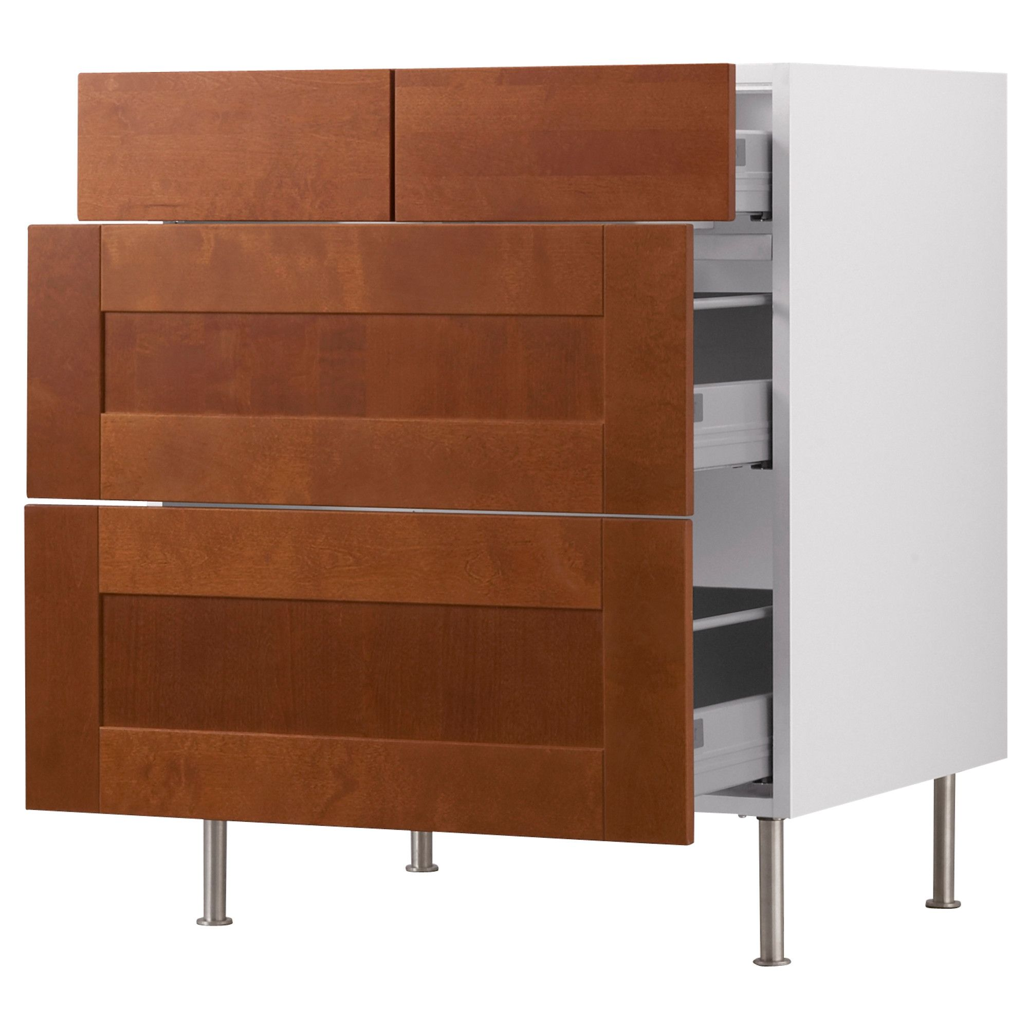 Masters Kitchen Base Cabinets 30 Quot Wide Akurum Base Cabinet With 2 432 Drawers Ikea Built