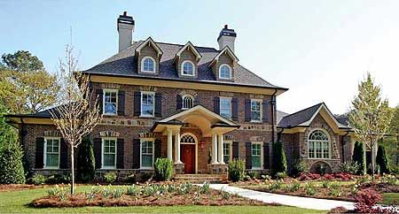 Plan 15765ge Stately Traditional Home Plan Traditional House