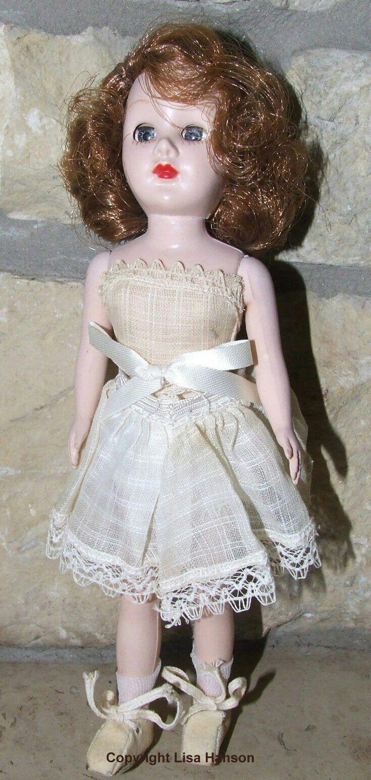 "Pin on 8"" Fashion Dolls Vintage 1950's 1960's"