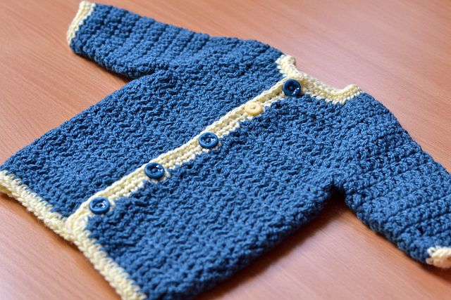 Ravelry: Project Gallery for Cardigan Sweater for Babies pattern by Kelly Kearney