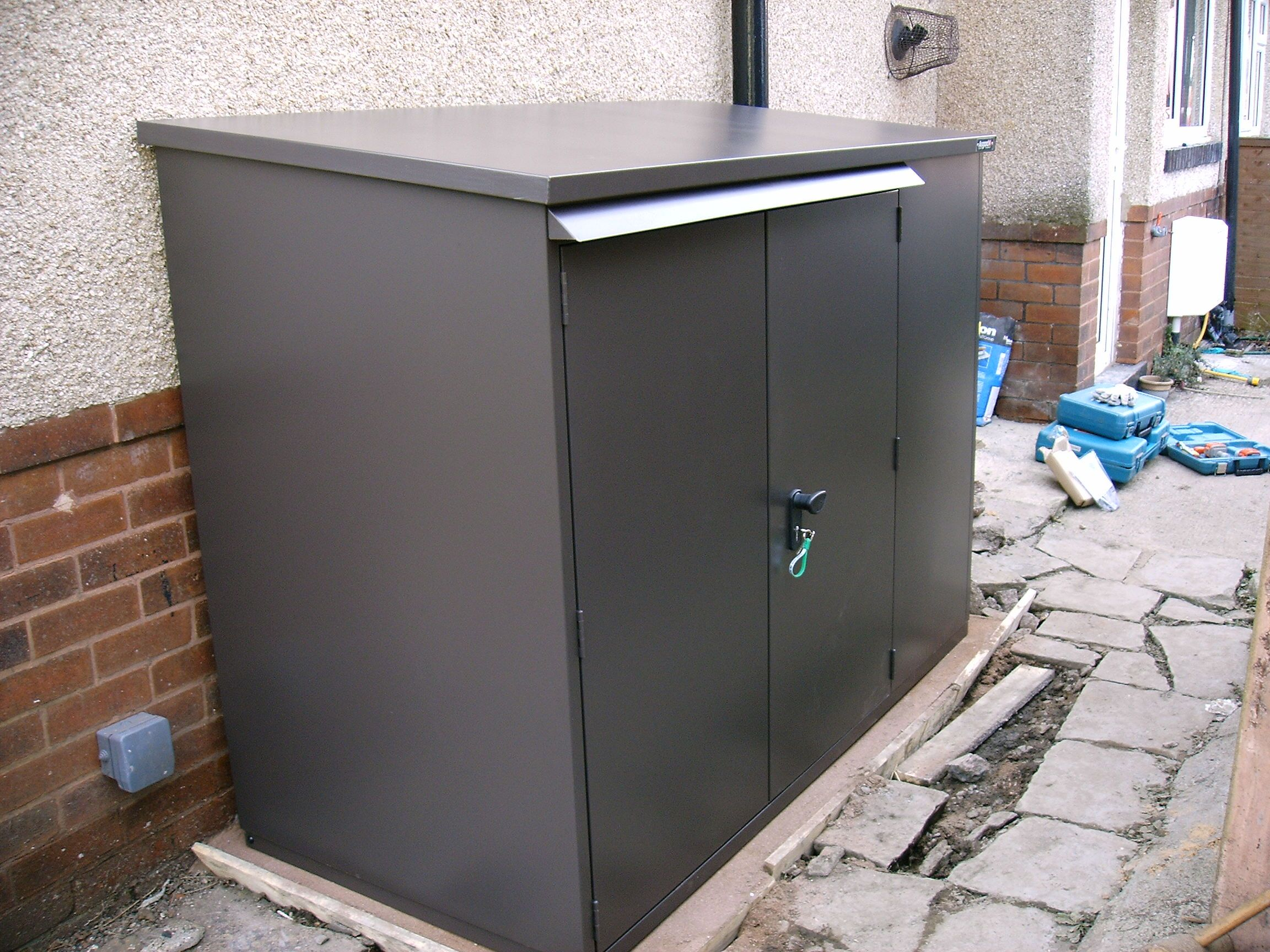 6ft X 3ft Police Approved Secure Bike Storage Secure Bike Storage Bike Storage Storage