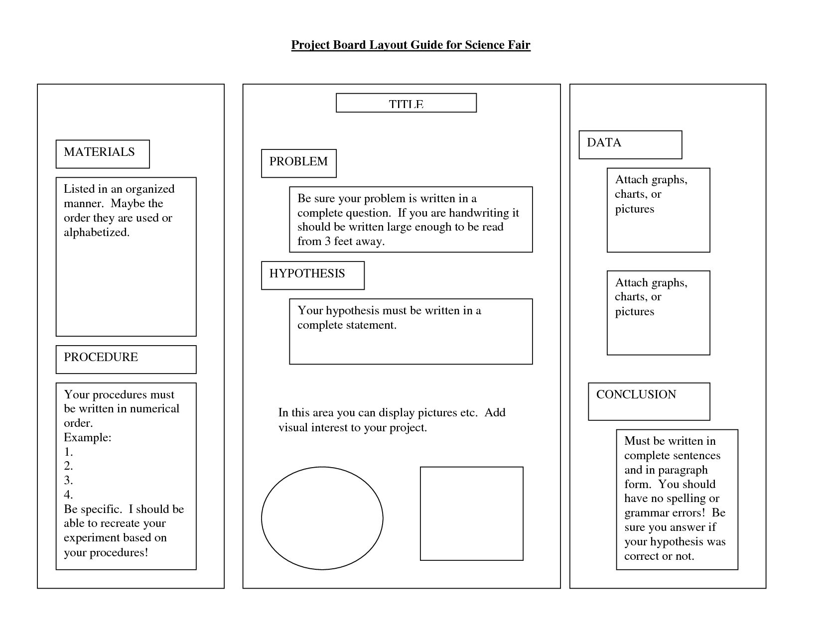science fair poster board layout | science fair poster board, Powerpoint templates