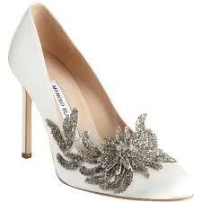 Manolo Blahnik Swan Shopstyle Pumps Zapatos De Novia Zapatos De Boda Zapatos De Cristal