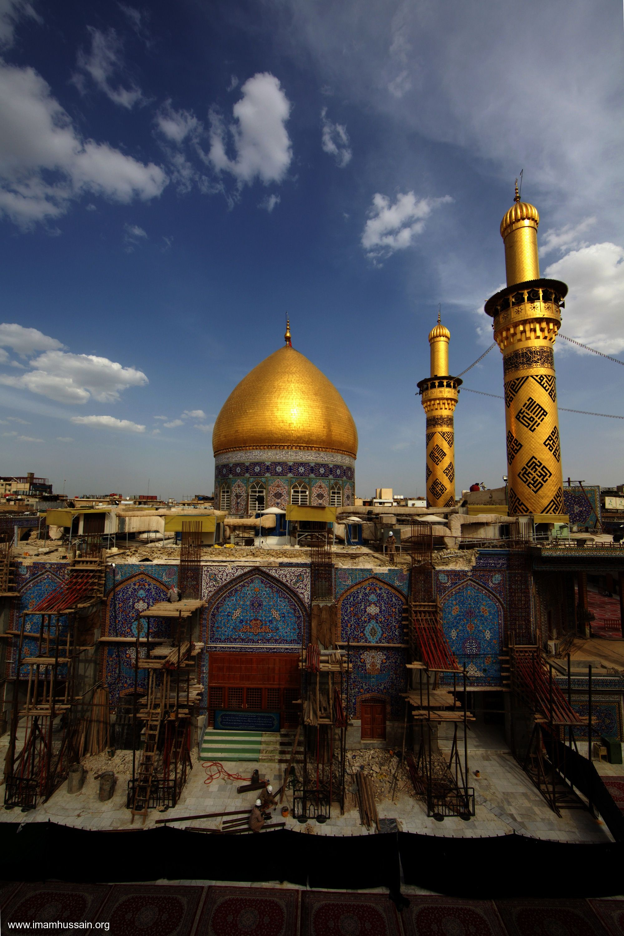 Maula Ali Shrine Wallpaper: Shrine Of Abbas Ibn Ali In Karbala