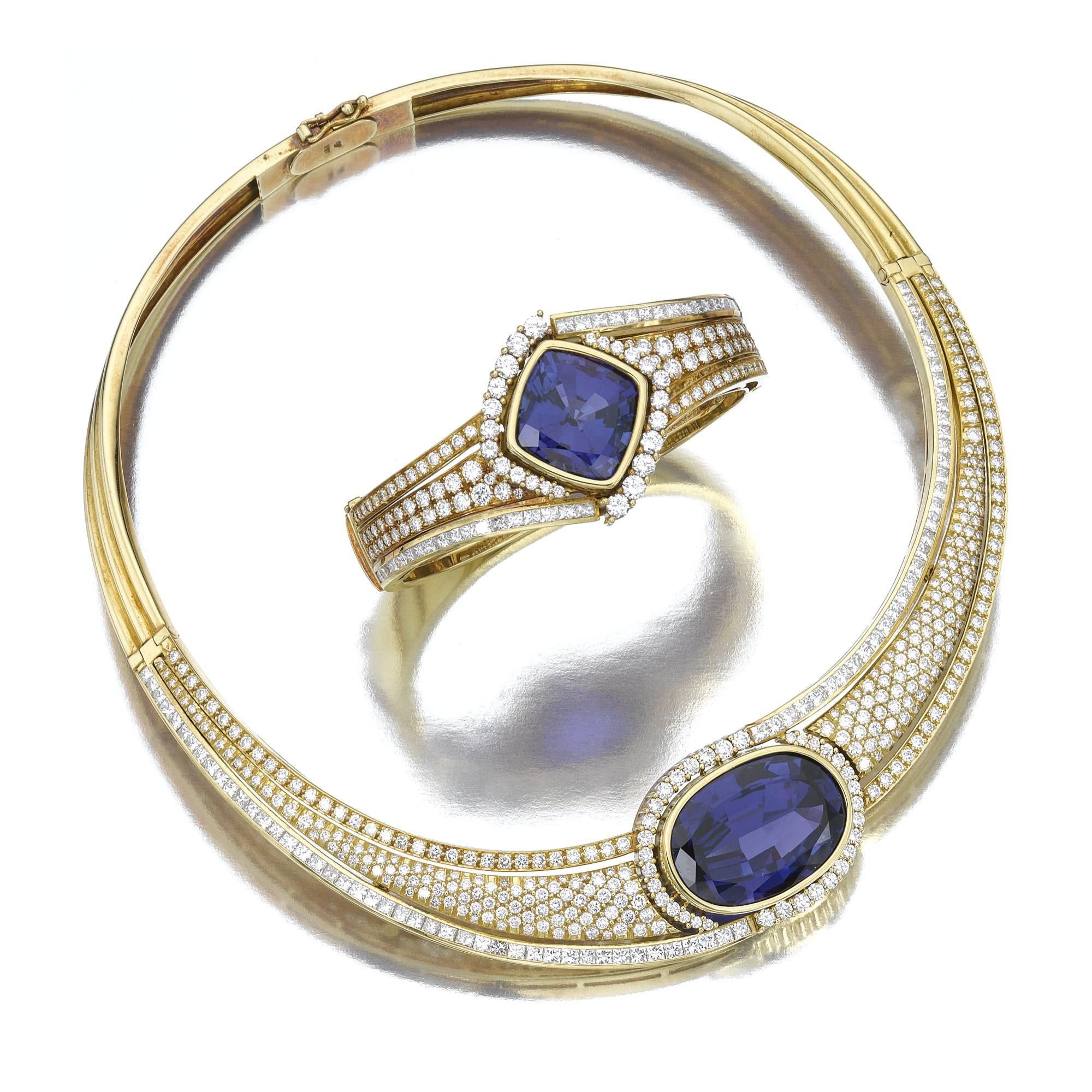 g cut auctions bukobject diamonds en ring a weight fullsize ct c tanzanite princess gold