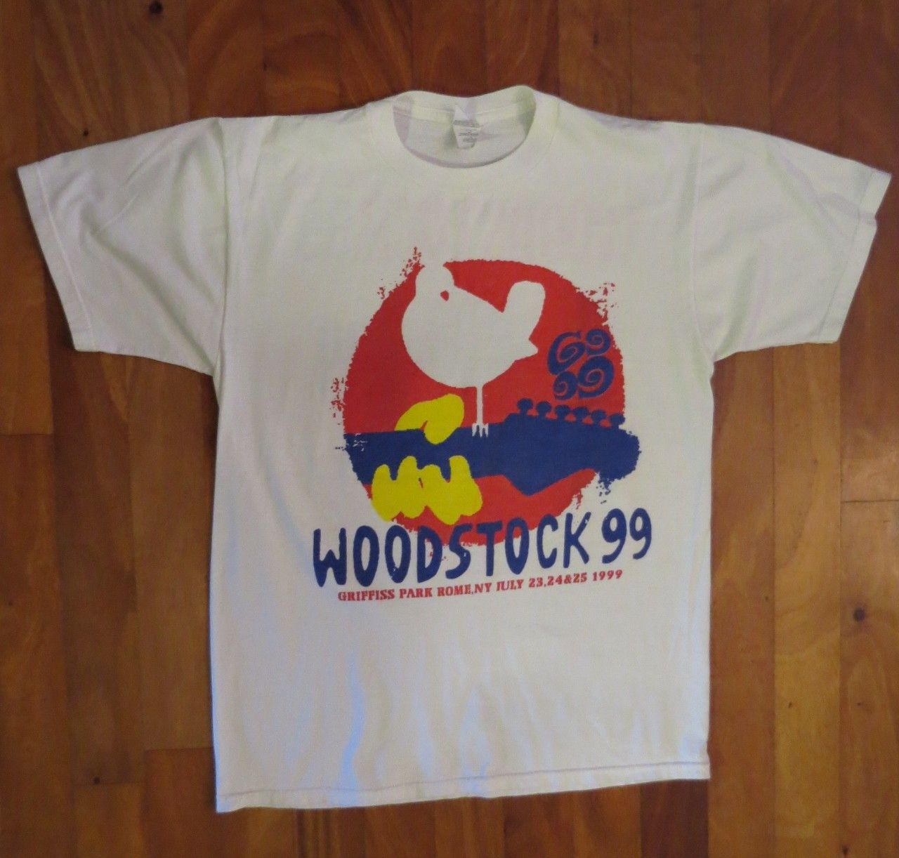 Woodstock 99' Concert Event T-Shirt , Variuos Artists, XL | The