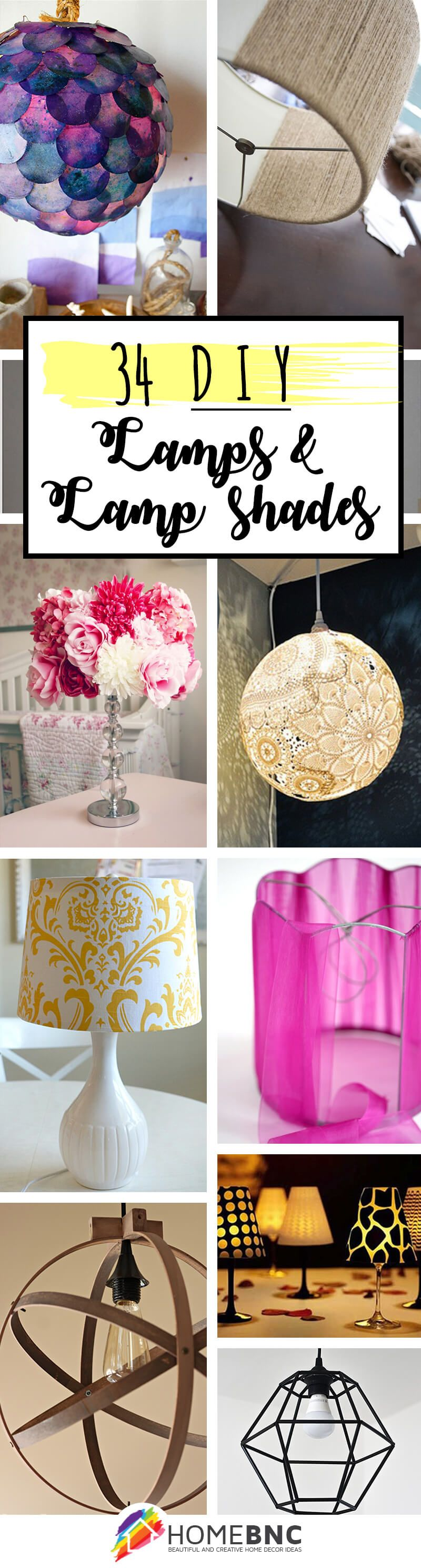 Photo of DIY Lamp Shade Ideas