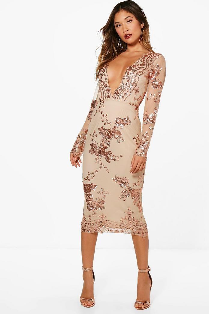 484e33419d3e1a Emery Diamond Sequin Midi Dress in 2019 | getting dressed | Sequin midi  dress, Dresses, Nordstrom dresses