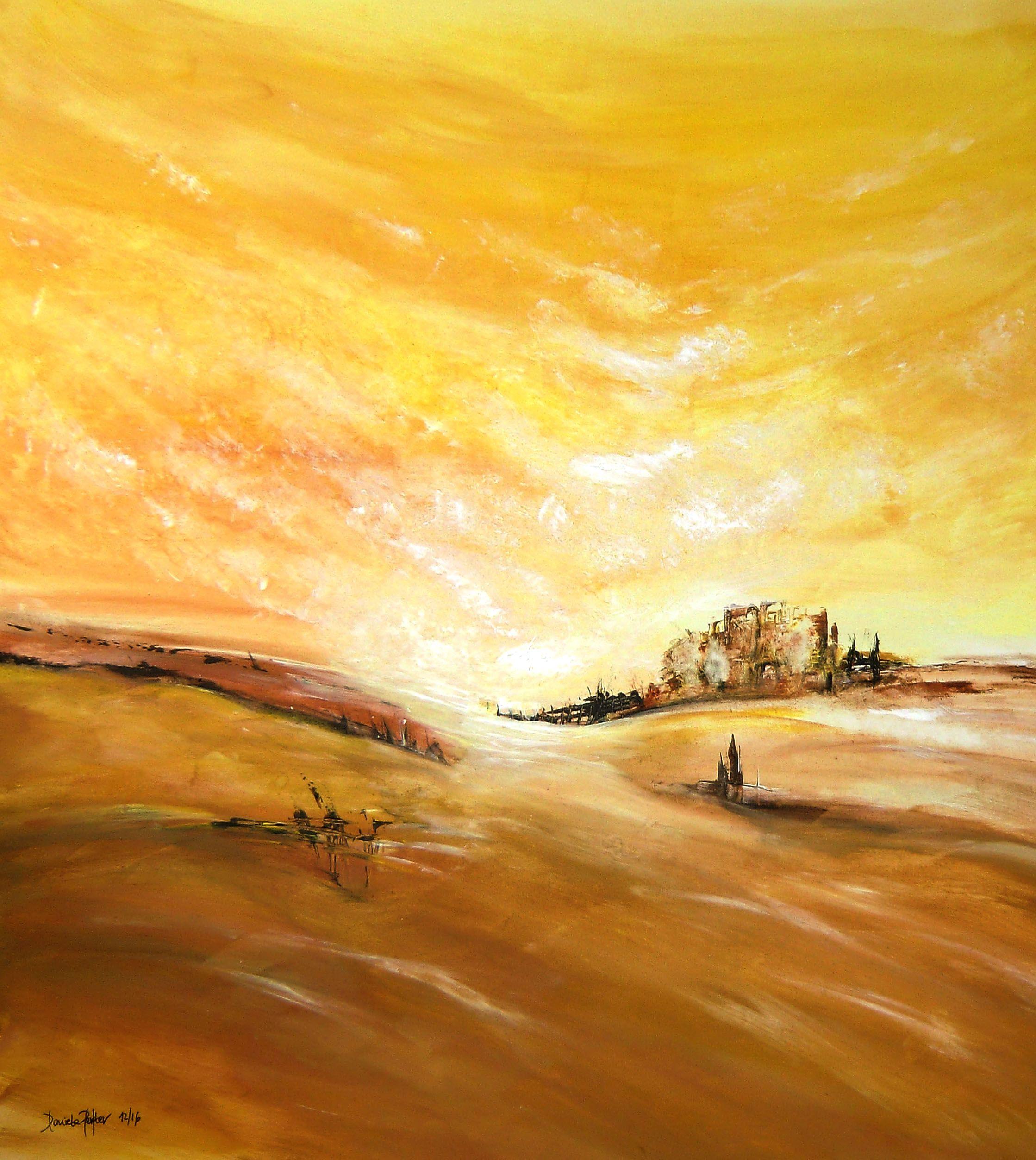 malerei abstrakt daniela perfler acryl auf leinwand 80 x cm paintings landscape art abstract eigenes bild als foto