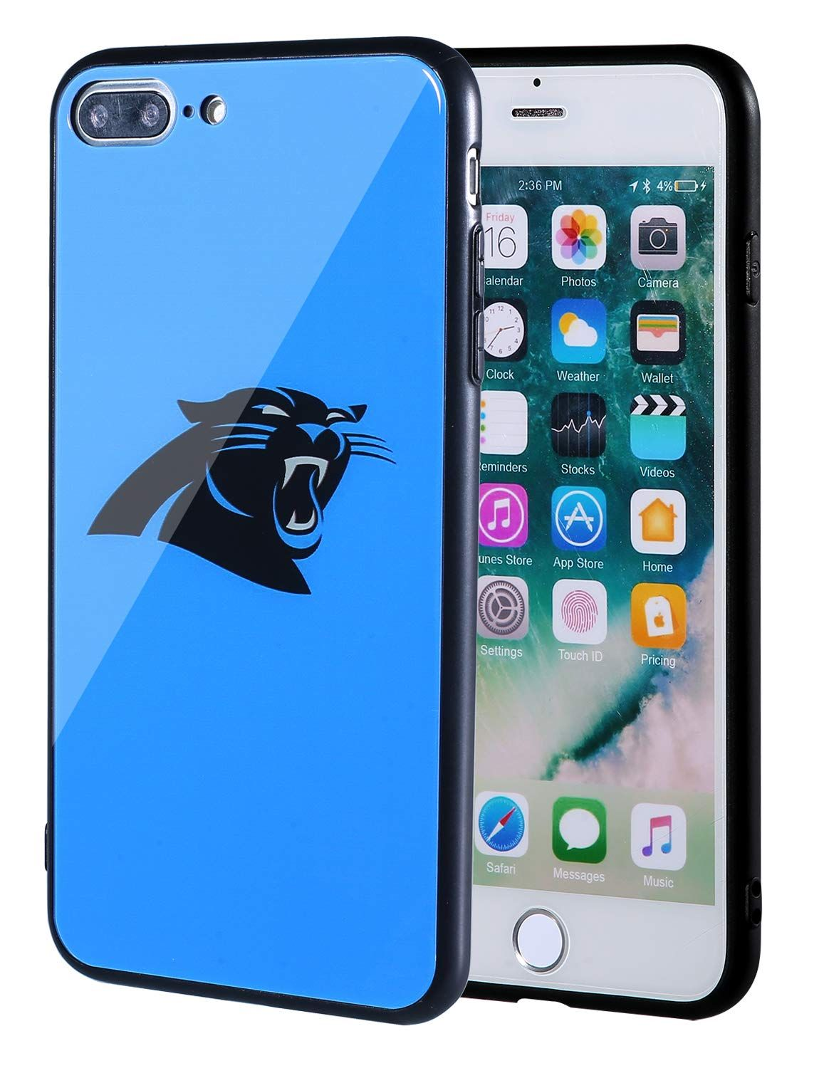 Sportula nfl phone case 9h tempered glass back cover