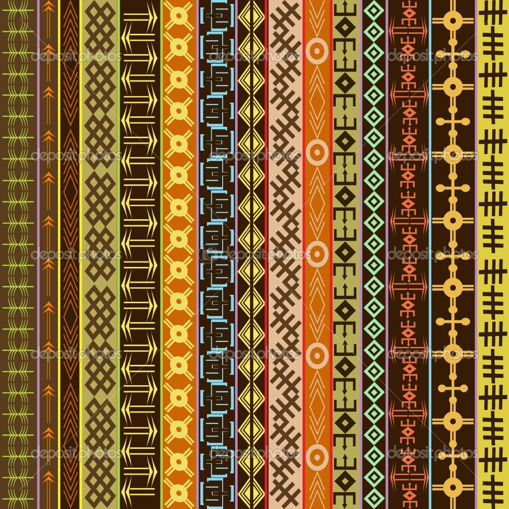 African Ornaments African Pattern Pattern Geometric