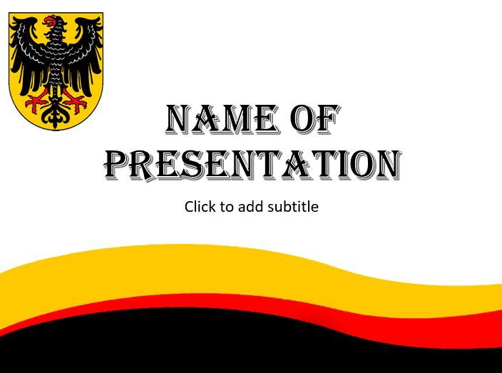 Germany presentation template powerpoint templates pinterest germany presentation template toneelgroepblik Images