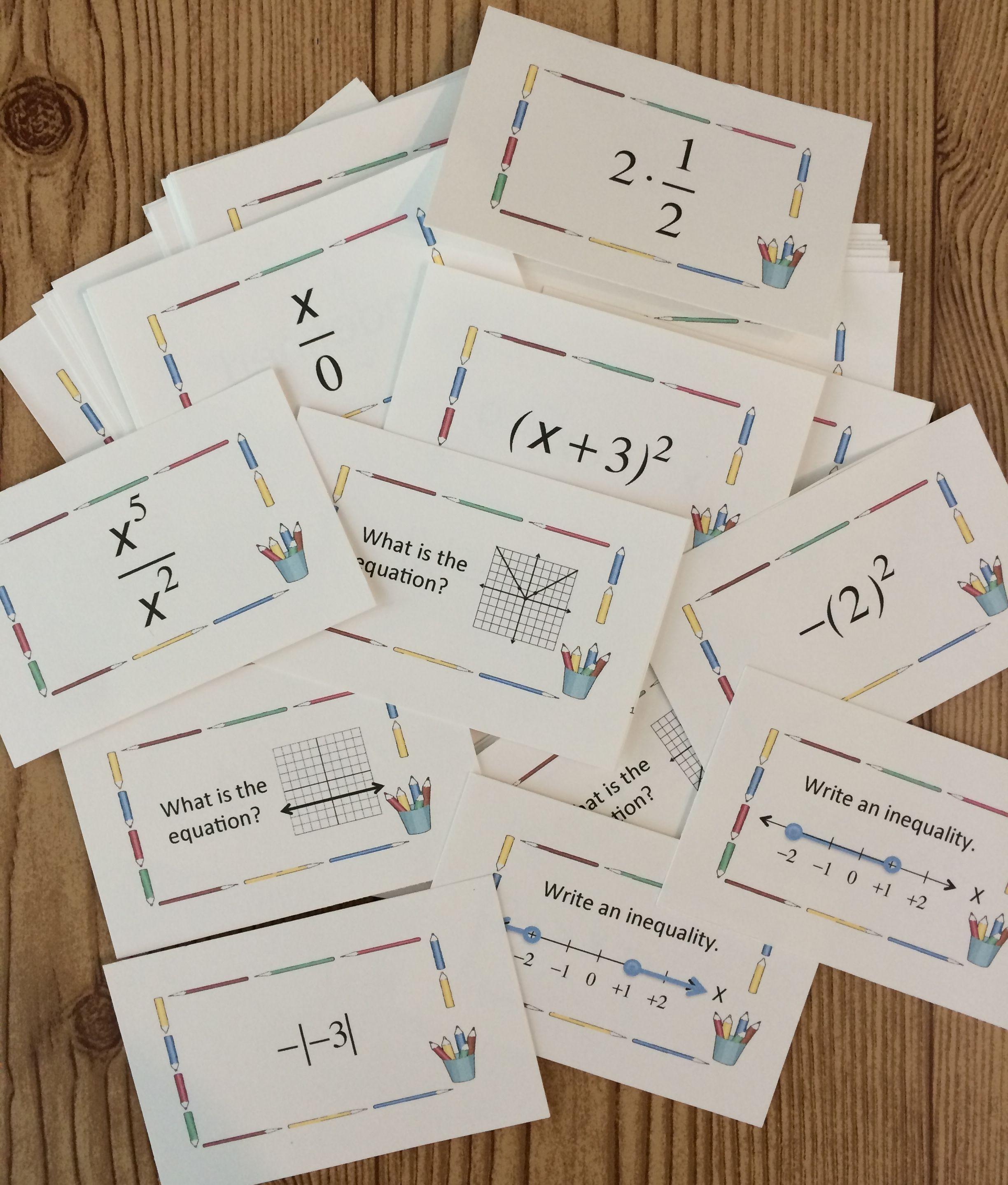 photograph regarding Algebra Flashcards Printable titled Again toward University Algebra Flashcards Significant University Math Tips