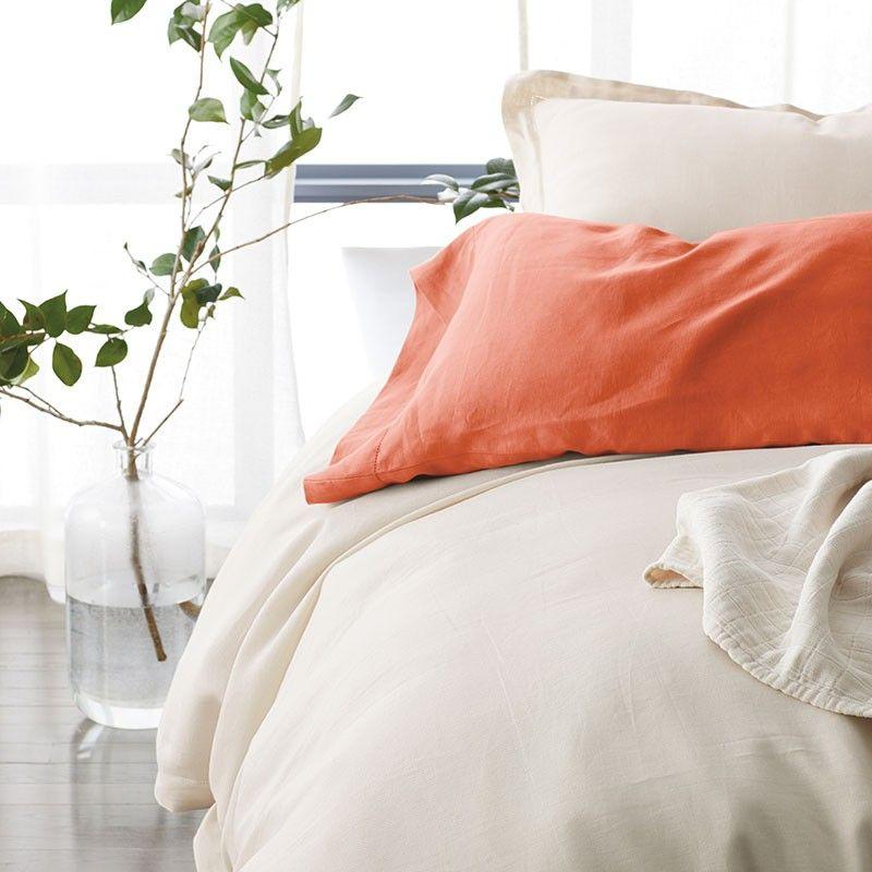 Legends Hotel Relaxed Linen Sham White Linen Duvet Linen Duvet Covers Bed Linen Sets