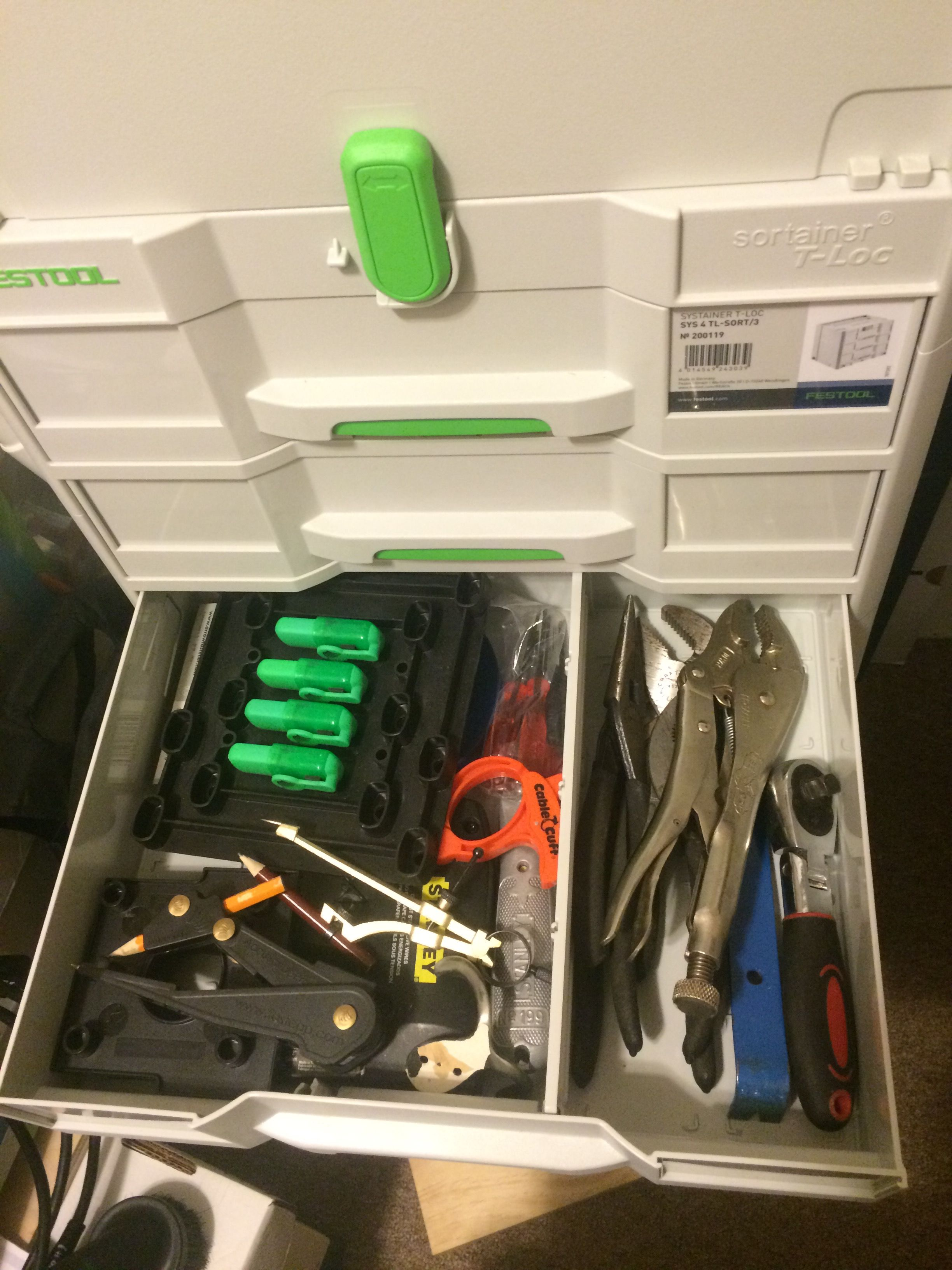 Sys 4 Tl Sort 3 Anyone Using For Hand Tools Tool Organization  # Muebles Sortimo