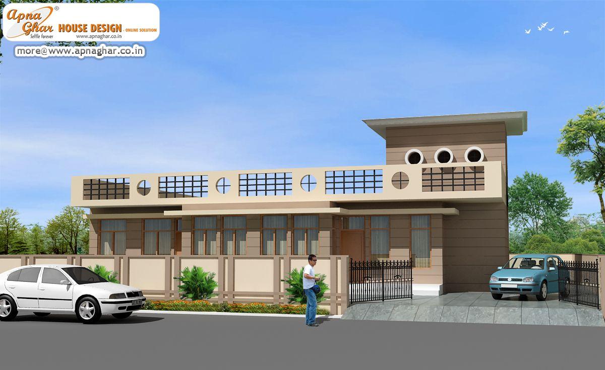Superb 3 Bedroom, Modern Simplex (1 Floor) House Design. Area:360m2 (