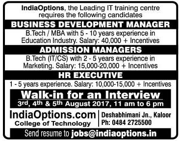 Indiaoptions The Leading It Training Institute Wanted Buisiness