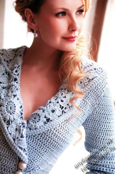 Al'uncinetto Giacca Crochet Abrigos Favolosa A Uncinettoterapia zxnw4O